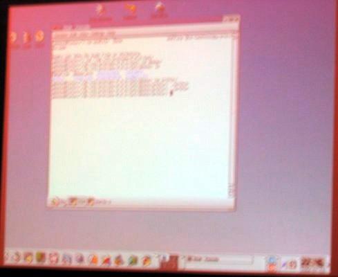 Jasmin running KDE desktop